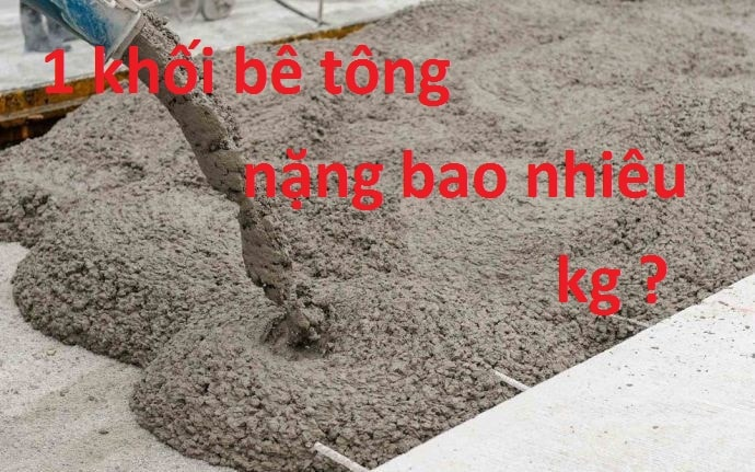 1m3 bê tông đổ được bao nhiêu m2 sàn