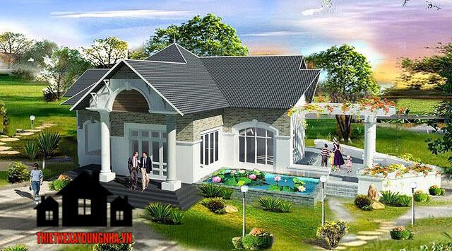 Hình ảnh ngôi nhà đẹp
