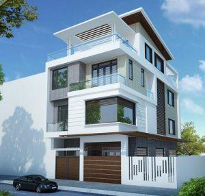 Thiết kế mẫu nhà 2 tầng đẹp