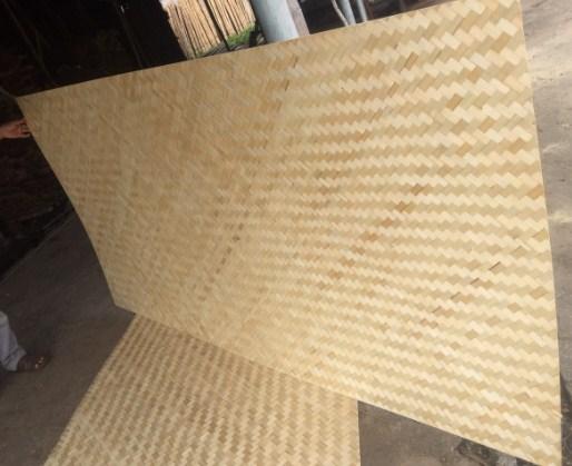 Một số ứng dụng của phên tre trong công trình xây dựng